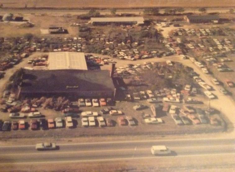 Aerial View of Collier Motors